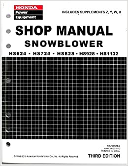 how to find out when honda snowblower