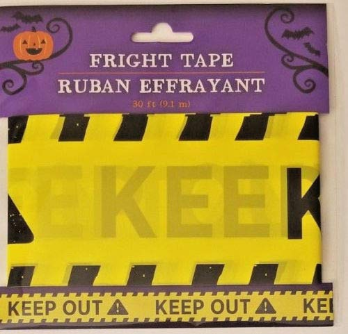 Halloween Fright Tape 30 ft Keep Out! -