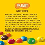 M&M'S Peanut Chocolate Candy, 38-Ounce Party Size