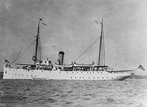 LAMINATED POSTER Miami-class cutter USCGC Tampa photographed in harbour, prior to the First World War. Completed in - Harbour Miami