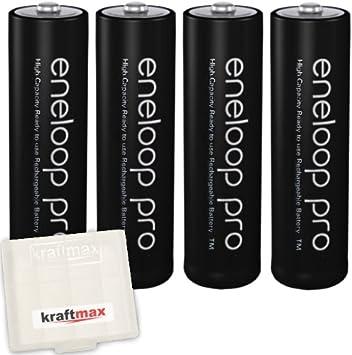 Kraftmax Eneloop Pro XX4er-Pack: Amazon.es: Electrónica