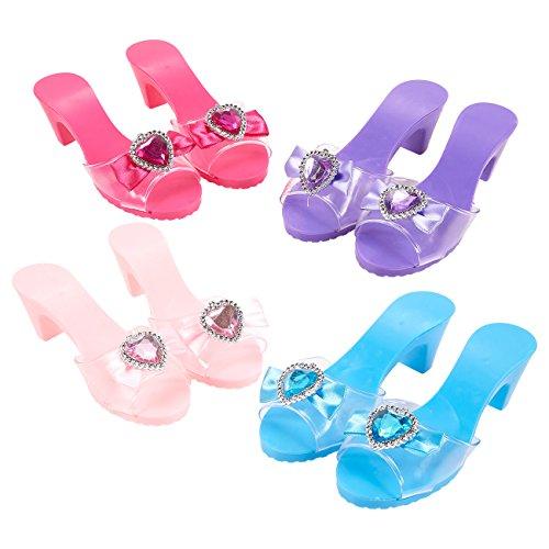 Princess Dress Up Toys 16 Piece Set Princess Shoes