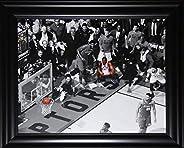 Kawhi Leonard Toronto Raptors Game 7 Easter Conference Semi Finals Buzzer Shot 24 x 20 Canvas Frame