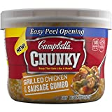 Campbell's Chunky Soup, Grilled Chicken & Sausage Gumbo, 15.25 Ounce (Pack of 8)