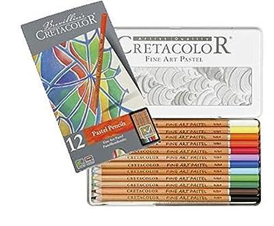 Cretacolor Fine Art Pastel Pencils 12 colors