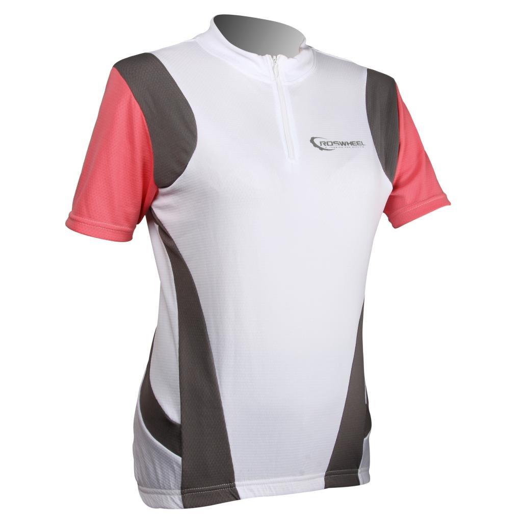 Tofern |レディースクイックドライ半袖スポーツTシャツCycling Running Tシャツ – 3色 S(155~160 cm, 45~50 kg) レッド B00U2BS3VU