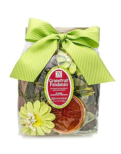 Aromatique  11 Ounce Grapefruit Fandango Decorative Fragrance Potpourri
