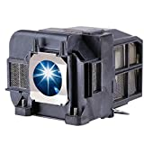EWO'S ELP77 Replacement Projector Lamp for ELPLP77 Epson Powerlite 1975W 1980WU 1985WU 4650 4750W 4770W 4855WU G5910 HC 1440 PC 1985 EB-1970W 4550 4855WU 4950WU 4955WU Lamp Bulb Replacement