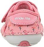 Stride Rite Girls' SM Avery Sneaker, Pink, 6 Medium