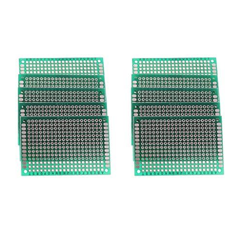 nouler Juler PCB Board Prototyping Kit, 4X6Cm Placa de Circuito Impresa Universal para Soldadura DIY y proyectos...