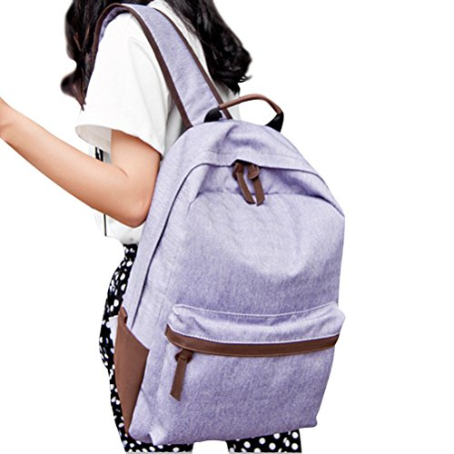 Oudan , Damen Satchel-Tasche coffee one size violett