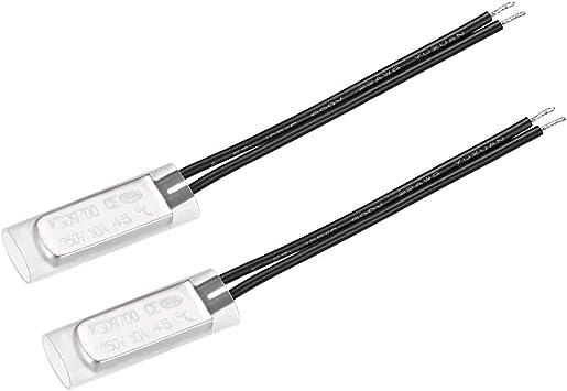 Temperature SWITCH 100 ° C NC Bimetal Switch Thermo Switch 250v AC//DC