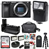 Sony a6500 4K Mirrorless Digital Camera Body ILCE-6500 + 64GB Bundle