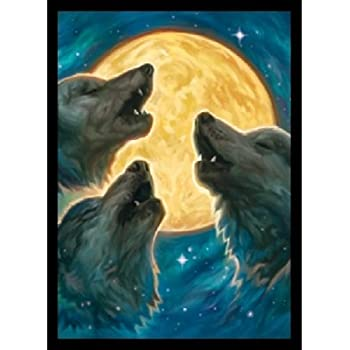 Legion Double Matte 3 Wolf Moon Art Card Sleeves with Matte Finish 50