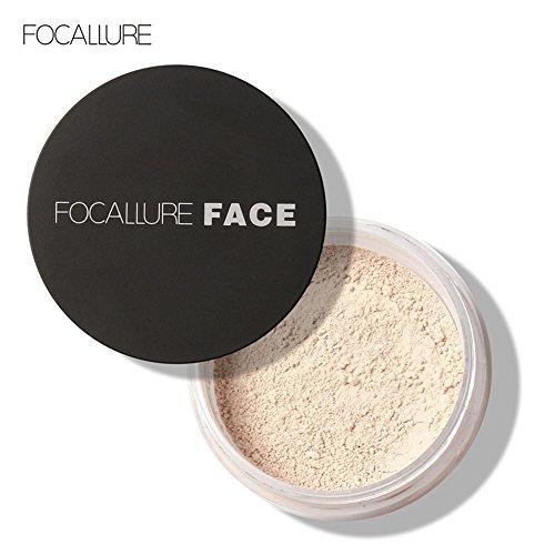 Datework Focallure Oil Lasting Anti-sweat Breathable Transparent Loose Powder (1#)