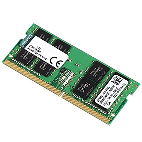Kingston Technology System Specific Memory 8GB DDR4 2400MHz módulo de - Memoria (8 GB, 1 x 8 GB, DDR4, 2400 MHz, 260-pin SO-DIMM, Negro, Verde)
