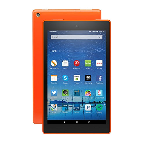 BRAND New Amazon Kindle Fire HD 8  16GB, Wi-Fi, 8in - Tangerine