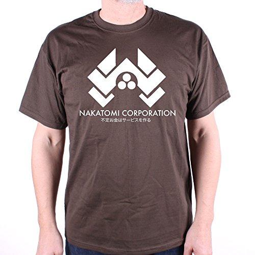 Old Skool Hooligans Nakatomi Corporation Logo T Shirt