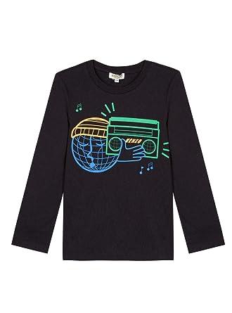 835f4f072429 Kenzo T-Shirt Evan Noir 16A Noir  Amazon.fr  Vêtements et accessoires
