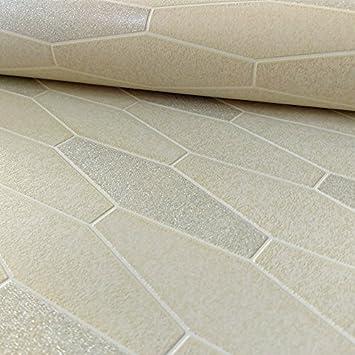 Attraktiv Schon Holden Apex Fliesen Effekt Muster Tapete Marmor Glitzer Motiv Küche Badezimmer  Creme 89271