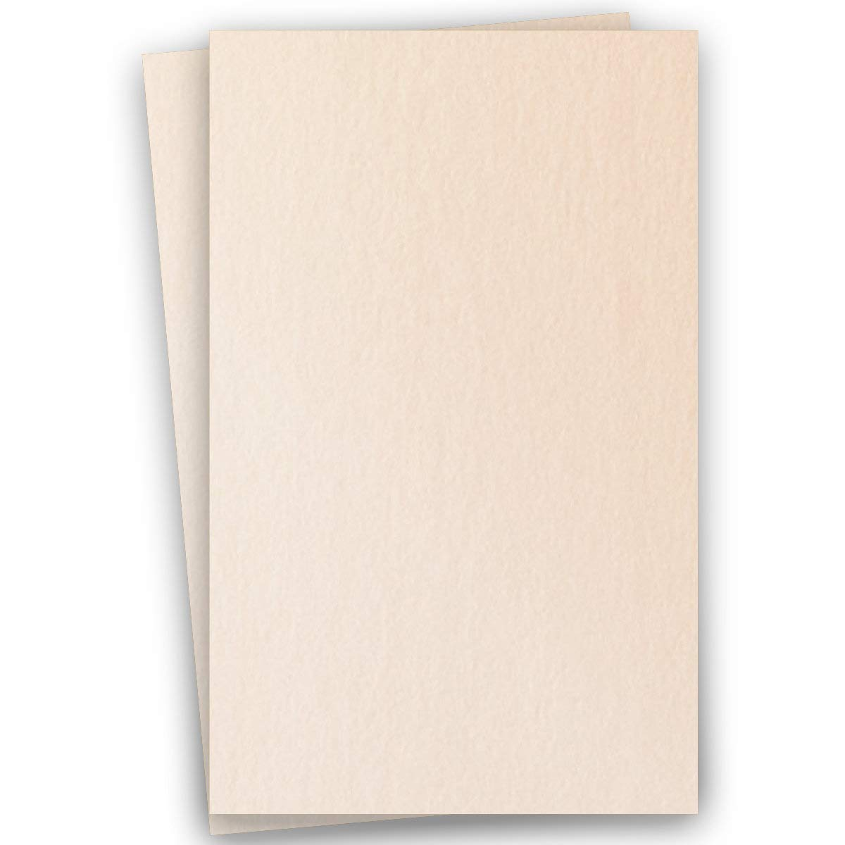 Metallic Soft Coral 11-x-17 Cardstock Paper 100-pk - PaperPapers 284 GSM (105lb Cover) Ledger Size Metallic Card Stock Paper - Business, Card Making, Designers, Professional and DIY Projects