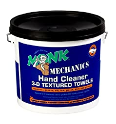 Dreumex USA Inc. 45101 Monk Mechanics Fabric Hand Cleaner 3D Textured Towel, 12-1/2\