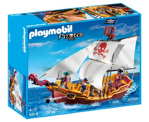 Pirate Playmobil - PLAYMOBIL® Red Serpent Pirate Ship