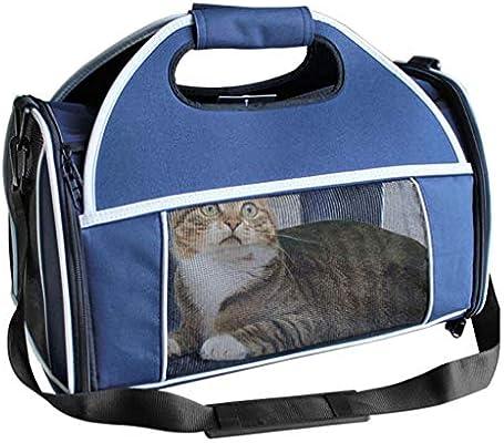 Caja de mascotas portátil Jaula de ventilación Plegable Gato y ...