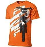 GENUINE KTM TLD TEAM T-SHIRT BLACK XL