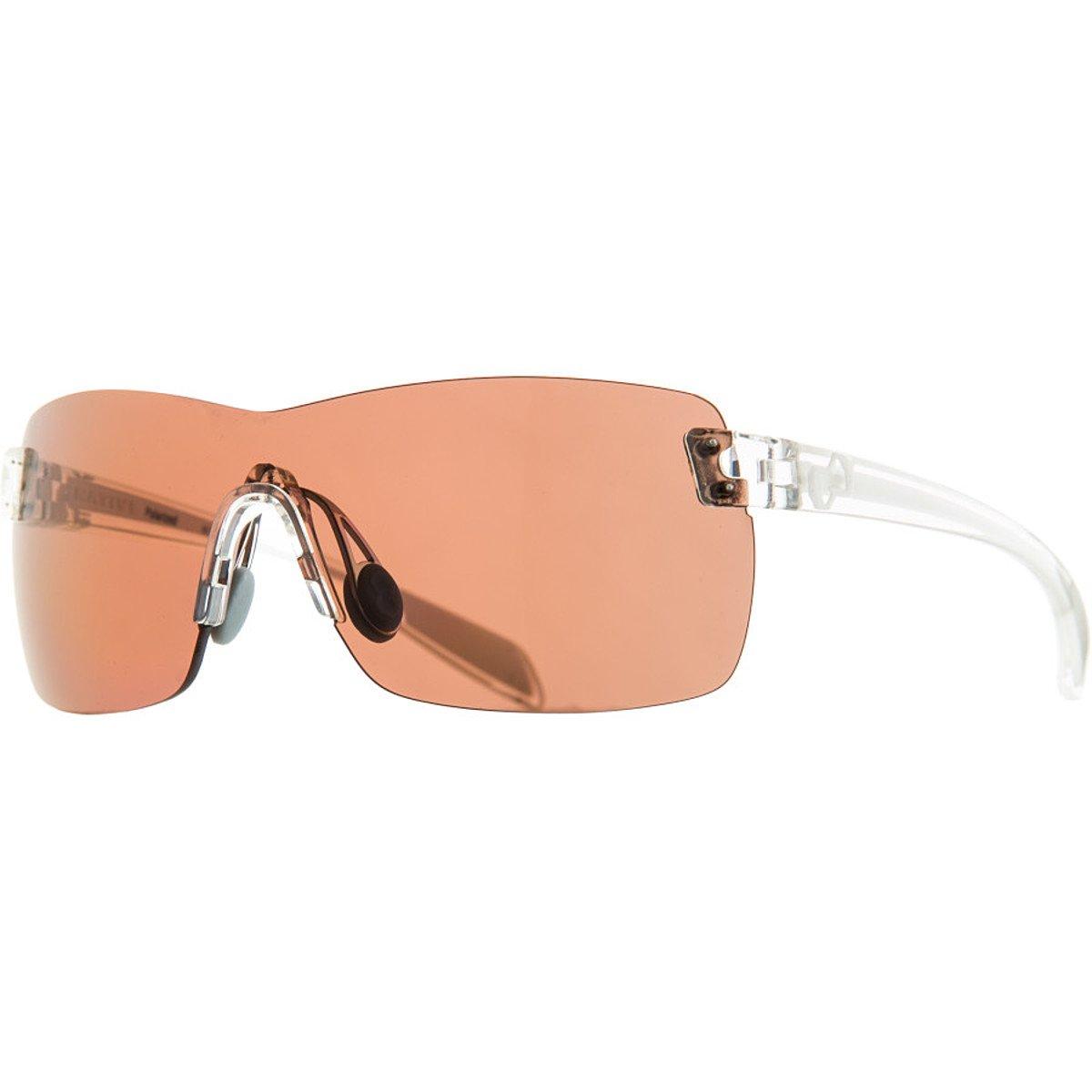 Native Camas Polarized Sunglasses, Copper, Crystal / White