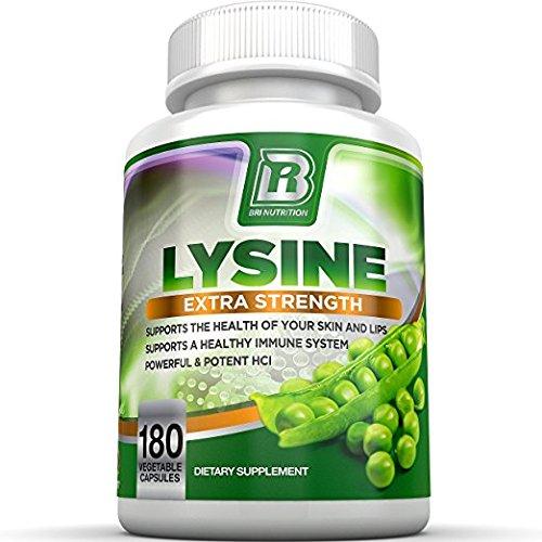 BRI Nutrition L Lysine Servings Bottle product image
