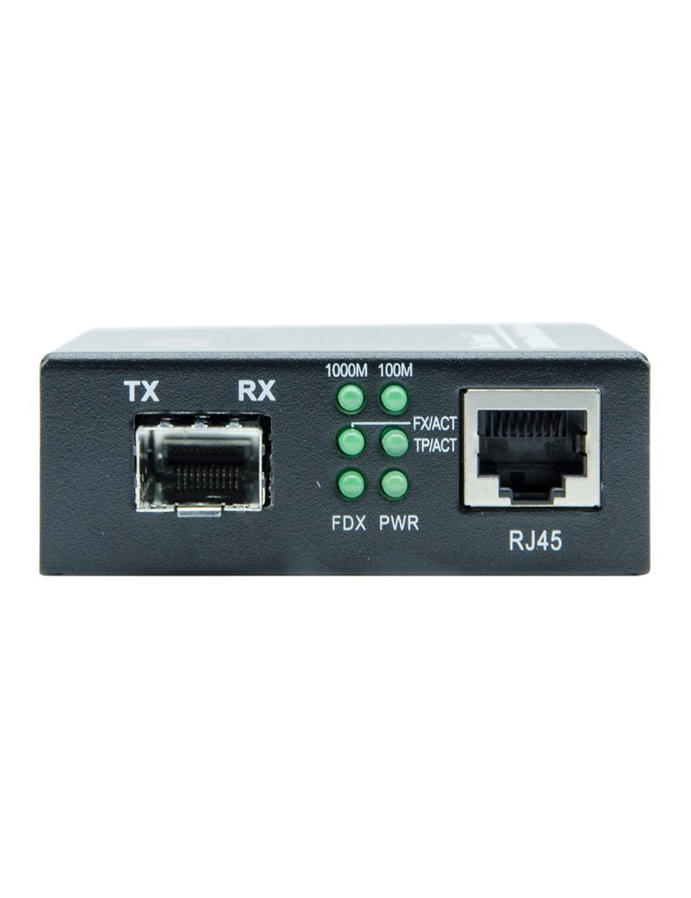 6COM Gigabit Ethernet Media Converter, 10/100/1000Base-TX to 1000Base-FX SFP Slot, without Transceiver by 6COM (Image #2)