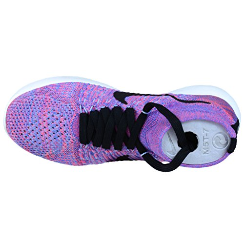 Zapatillas de Nike aluminum Black Mujer Wmns Punch medium Flyknit Lunarepic para Running Blue Hot IgTqTw