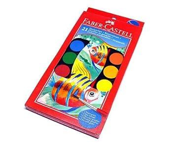 Rcecho 174 Faber Castell Andere Aquarelle Farbkasten 21 Farben