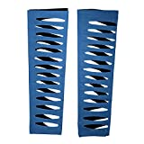 WWE Authentic Jeff Hardy Royal Blue Arm Sleeves