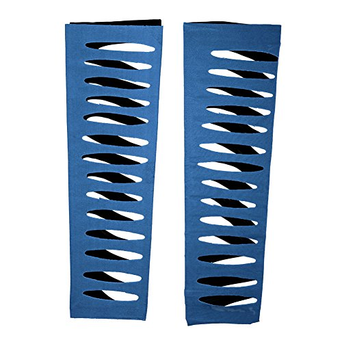 WWE Authentic Jeff Hardy Royal Blue Arm Sleeves -