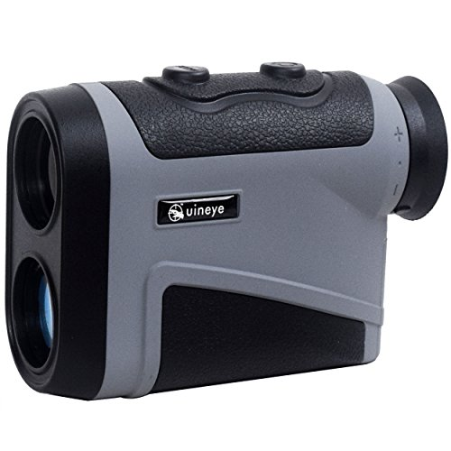 Golf Rangefinder - Range : 5-1950 Yards, +/- 0.33 Yard Accuracy, Laser Rangefinder with Height, Angle, Horizontal Distance Measurement Perfect for Hunting, Golf, Engineering Survey (Grey)