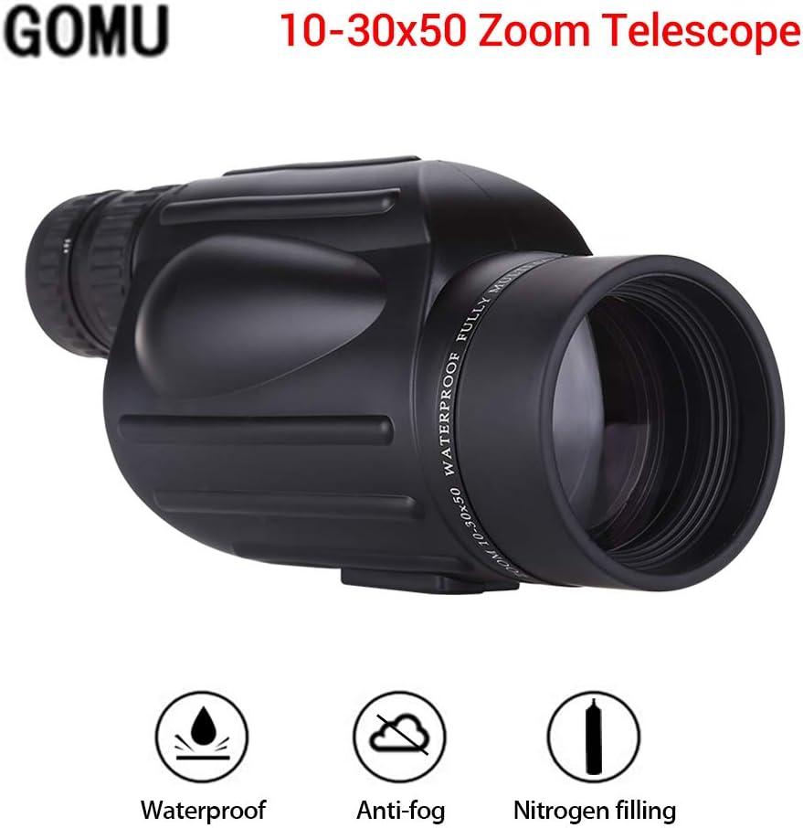 Bigking Zoom monoculaire 10-30x25 t/élescope de Poche monoculaire HD de Vision Nocturne avec Zoom Portable