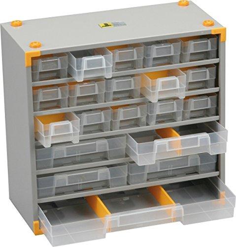 Allit 465500 ''VarioPlus Metal 33'' Small Parts Cabinet by Allit