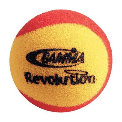 GAMMA CGRB6 Revolution Foam Tennis Balls Sixty Pack ()