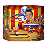 Beistle Circus Photo Property, 3-Feet 10-Inch by 25-Inch, Multicolor