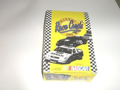 - 1991 Nascar Maxx Racing Cards, Box 36 Sealed Packs