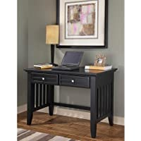 Home Styles 5181-16 Arts and Crafts Student Desk, Black Finish