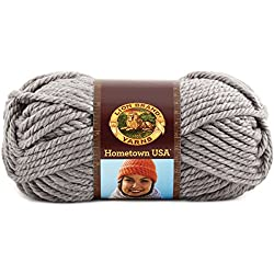 Lion Brand Yarn 135-149k Hometown Usa Yarn, Dallas Grey