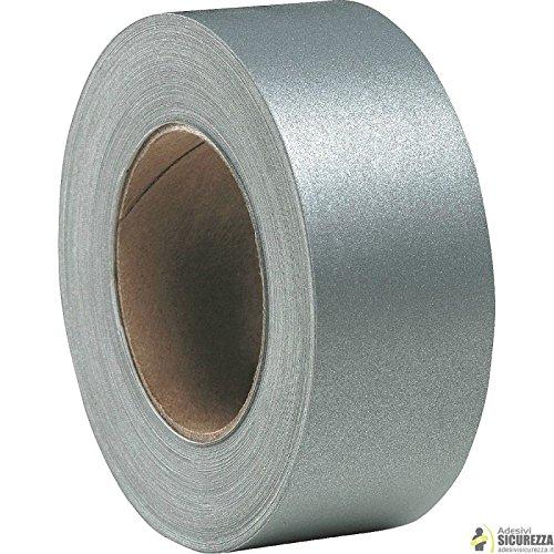 Siser - Nastro pellicola termosaldabile(anche con ferro da stiro) riflettenti rifrangenti 25/50mm x 2MT - 50mm x 2MT