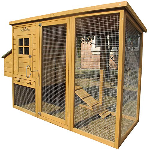 "Pets Imperial Monmouth Large Chicken Coop 6ft 7"" in Length"