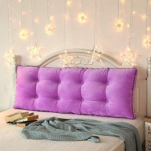 サイズが2倍の枕クッション、4色、5サイズ(色:紫、サイズ:100cm)