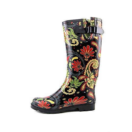 Corkys New Frauen Sonnenschein Regen Stiefel Paisley