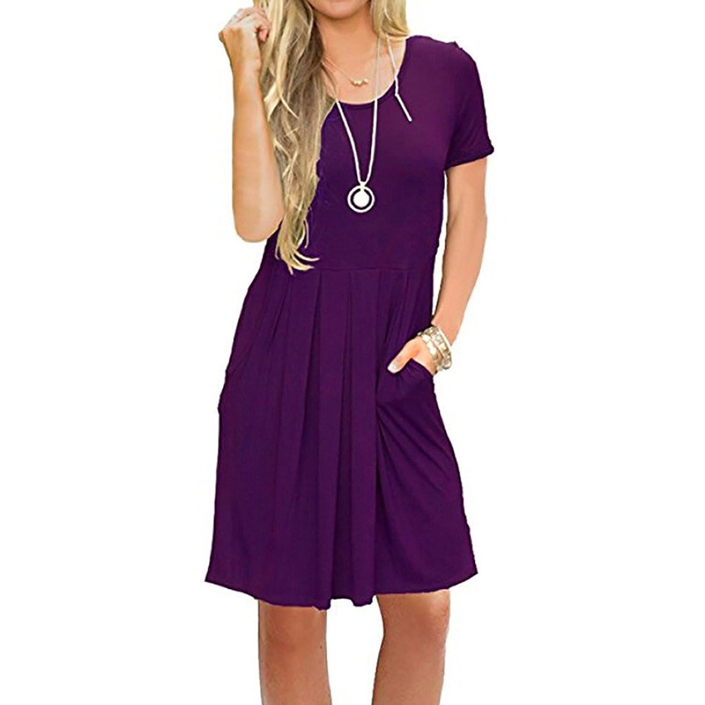 Mija Elegantes Kleid Shirtkleid Schwangerschaftskleid Oxd2 Umstandskleid