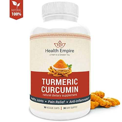 Cheap Turmeric Curcumin Capsules w/Bioperine 1500mg – Turmeric Supplement Pills w/95% Standardized Curcuminoids & Black Pepper – Anti-Inflammatory & Joint Pain Relief – Organic, Non GMO & Gluten Free